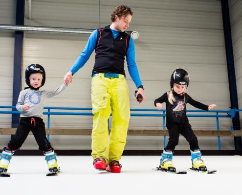 Skicentrum Sassenheim kindeskiles op de indoorrolbaan